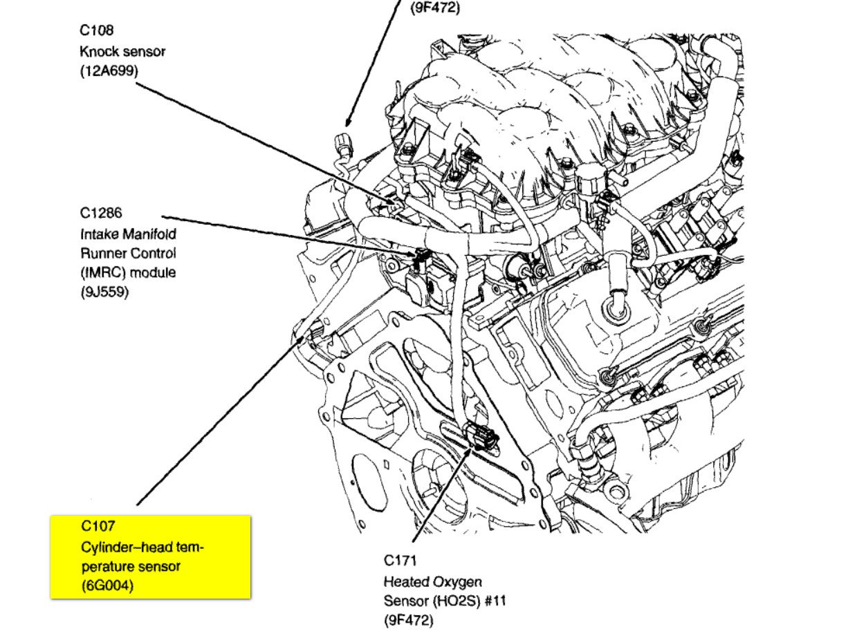 1999 Ford Ranger Oxygen Sensor Diagram moreover P0328 2005 nissan murano likewise 2000 Toyota Tundra O2 Sensor Bank 1 also 7uopo 2007 Chev 2500 Hd 6 0 Scan Tool Say in addition 232174516792. on 5 3 liter knock sensor