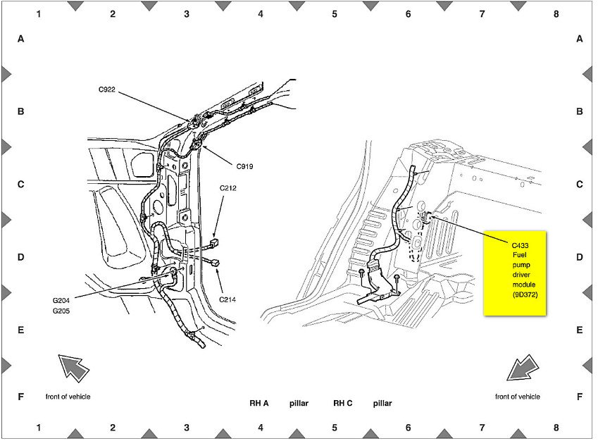 2000 mercury grand marquis fuel pump wiring diagram   51