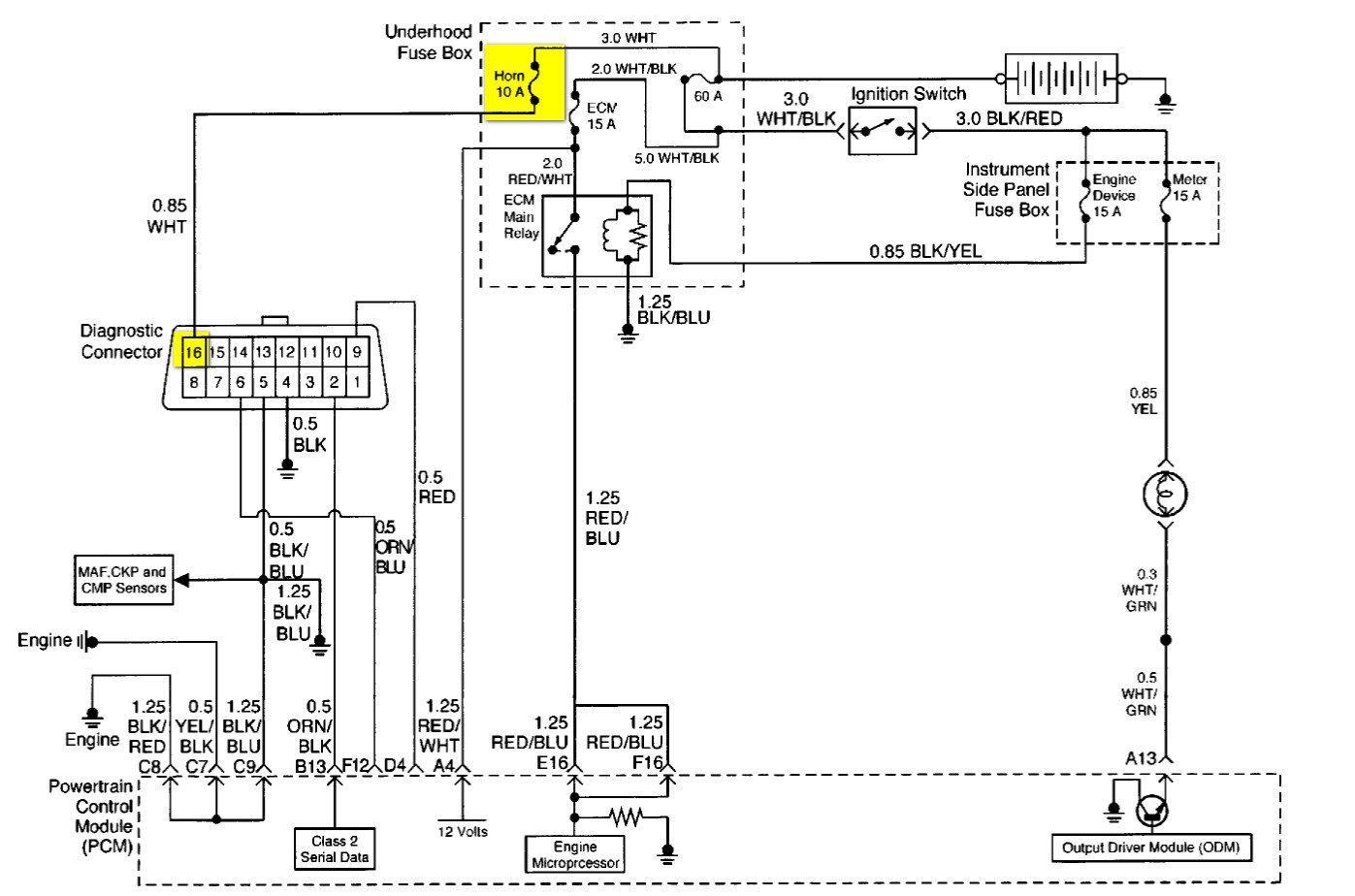 Vr6 Obd2 Wiring Diagram