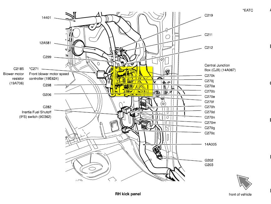 2004 f150 heritage no power to the data link connector