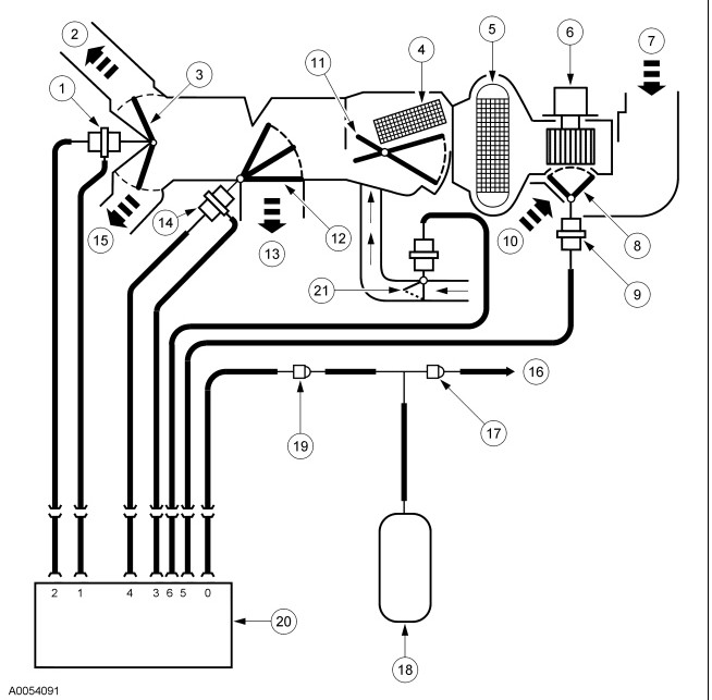 03 ford f150 5 4 vacuum diagram airplane vacuum diagram how do i remove the eatc from my 2003 lincoln. ac cold air ...