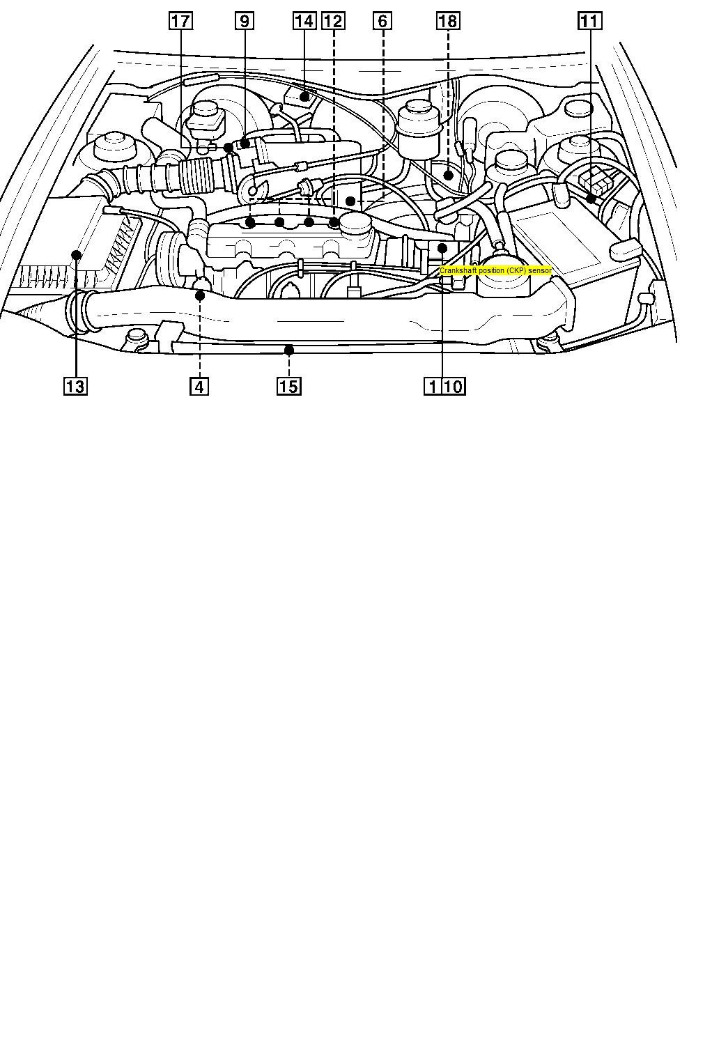 I have just repaced a clutch in a daewoo cielo 97 model pluged in