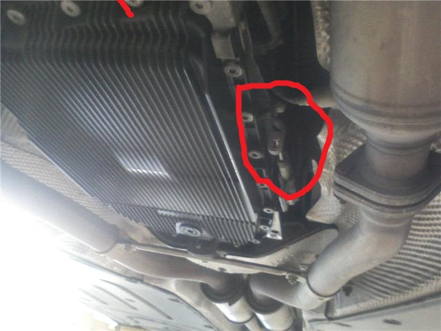 2004 745li Changed Transmission Pan When Put The Car