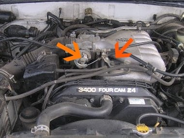 how to remove the fuel injectors of a 2000 4runner with 3. Black Bedroom Furniture Sets. Home Design Ideas