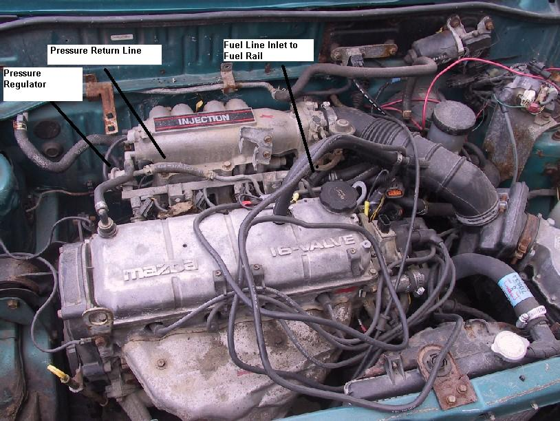 I Have A Ford Bantam With A 1 3l Rocam Engine  Over The