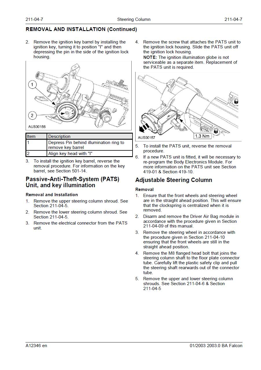 2010 11 11_020242_ba_ign_barrel_instructions ford falcon how to remove a ba ignition barrel ba falcon aux input wiring diagram at crackthecode.co