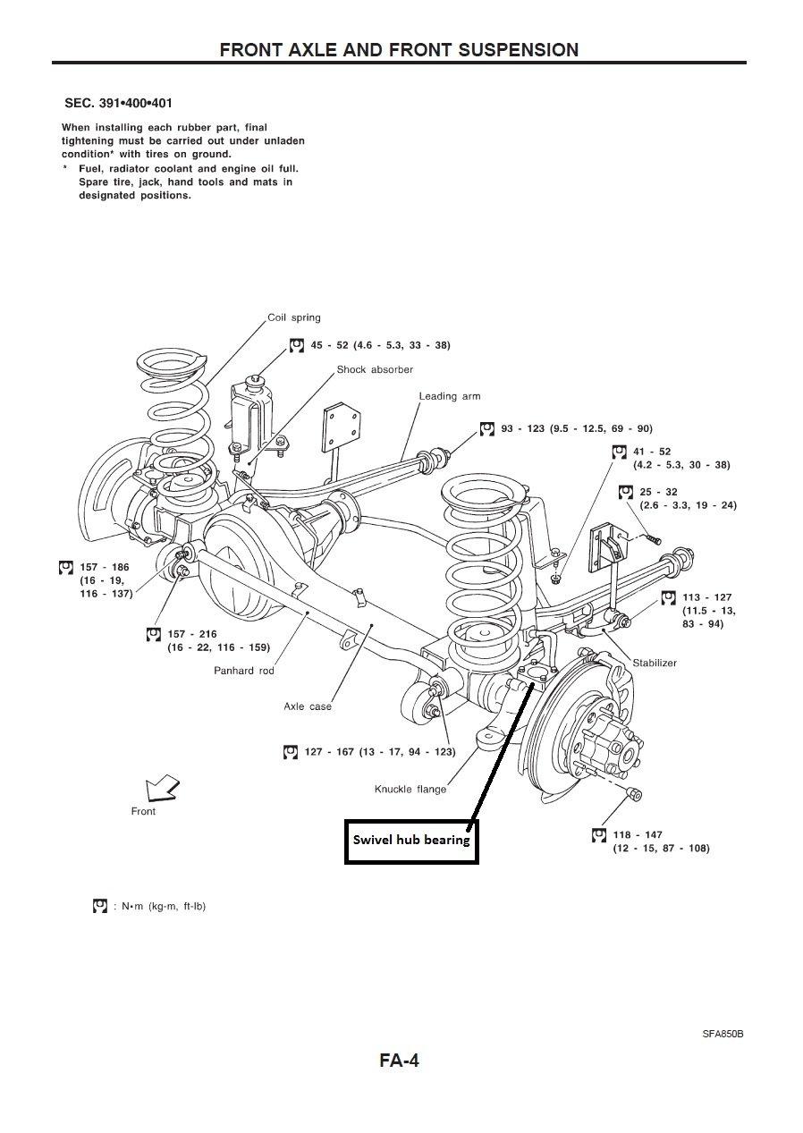 Nissan Suspension Diagram