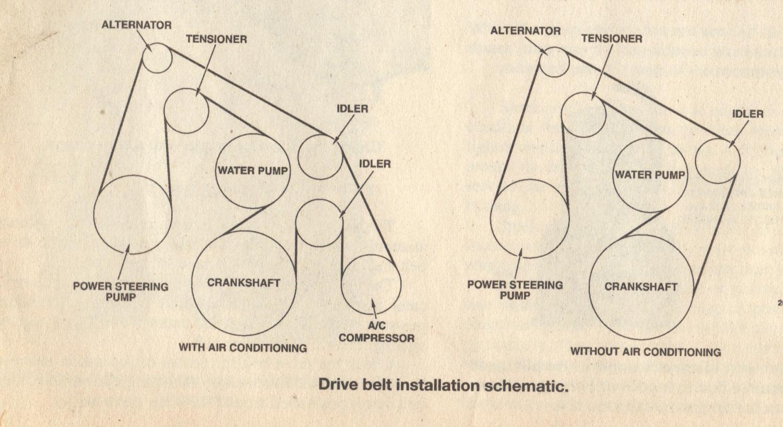 Belt Diagram For 96 Vs Commodore 3 8 Auto