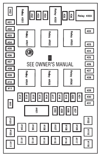 2004 f150 fuse block diagram 2004 ford f 150 fuse box diagram - wiring diagram pictures #10