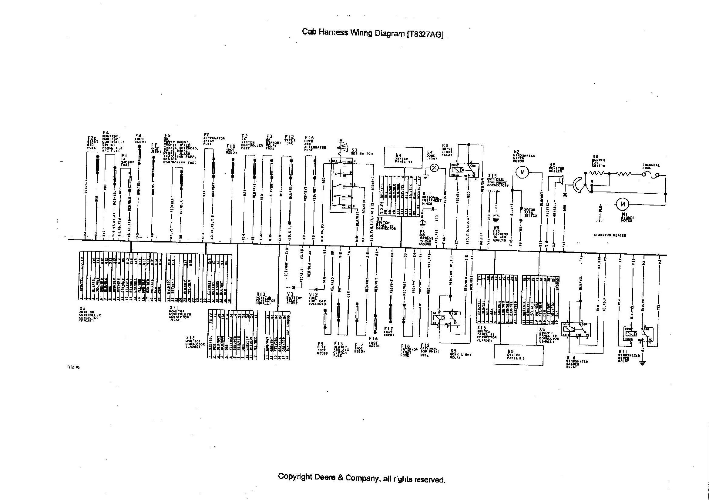 john deere wiring harness diagram 690e lc