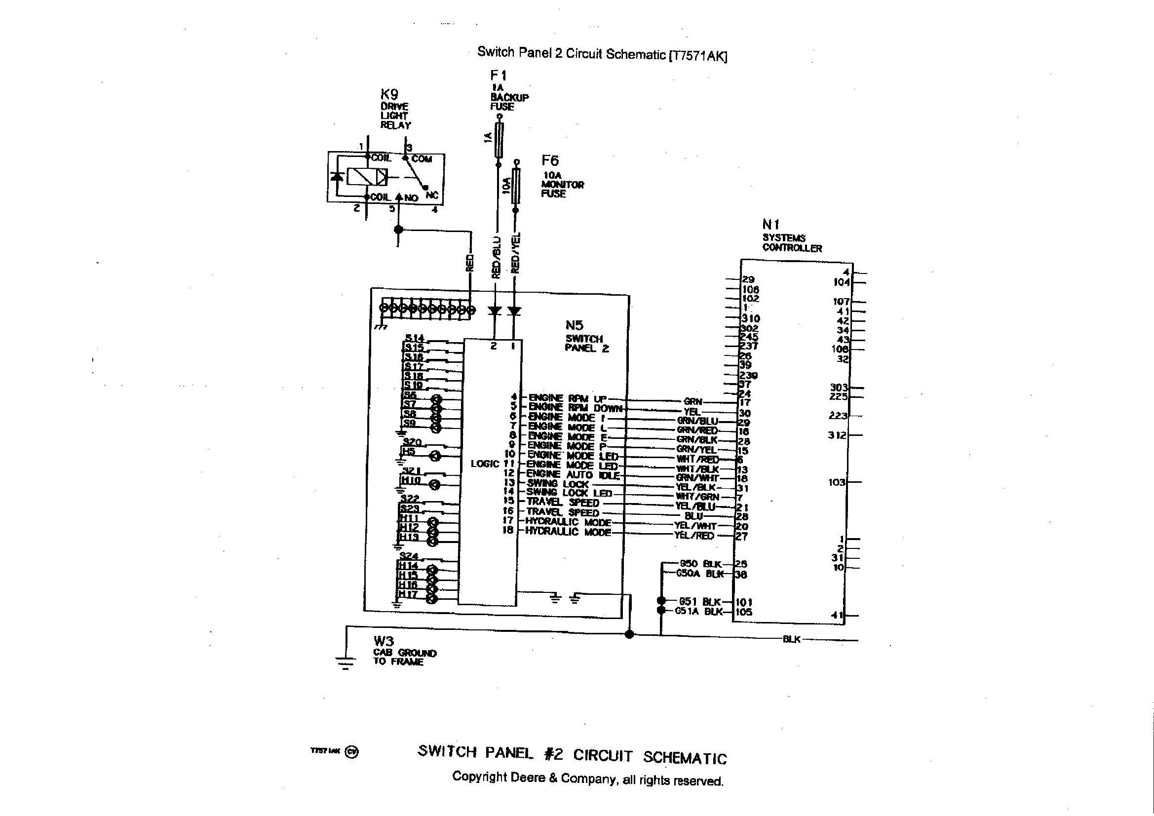 John Deere Wiring Harness Diagram 690e Lc Just Wiring Diagram