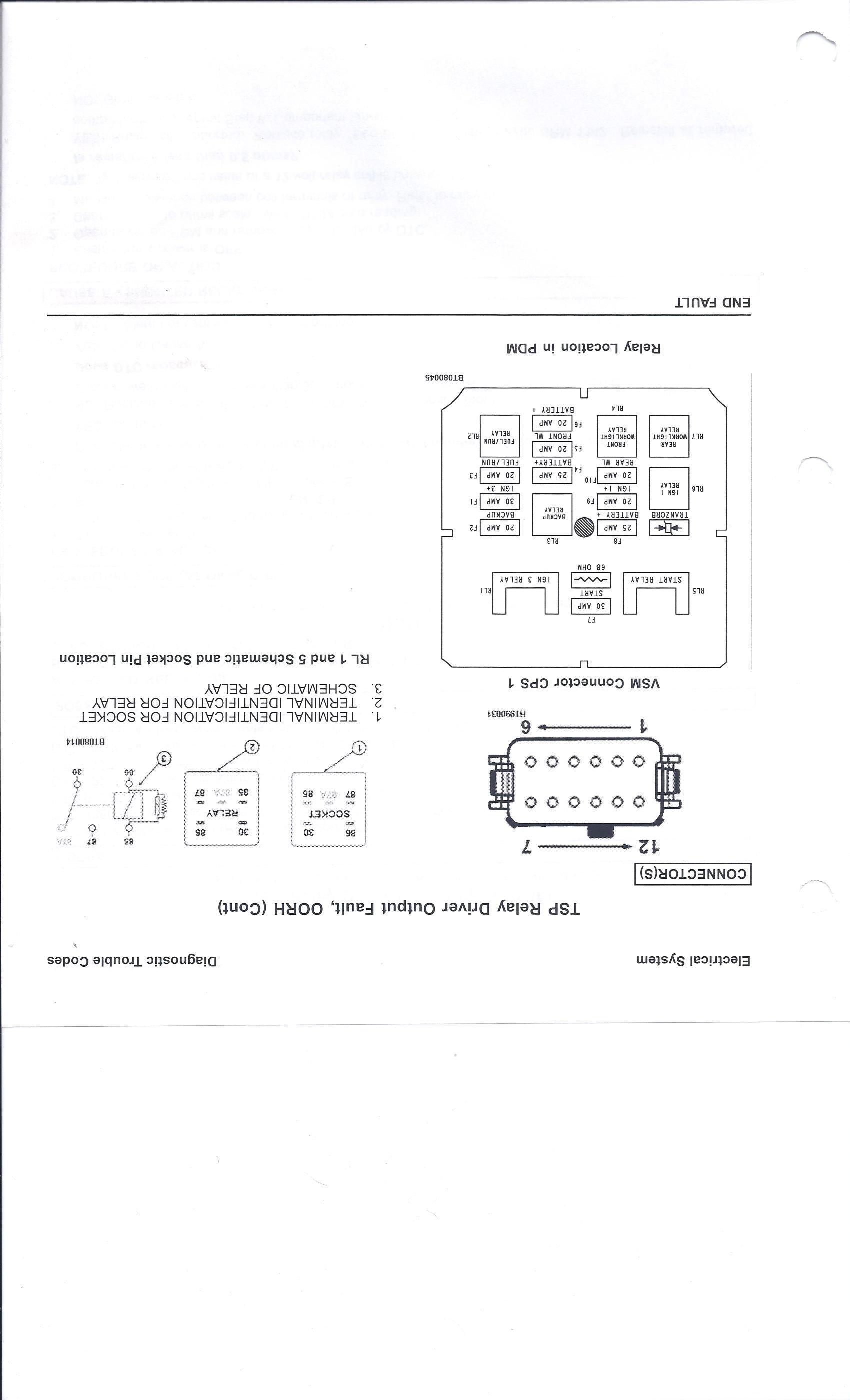 2007 Hyster 4K forklift Model Number H40FT-A and VIN