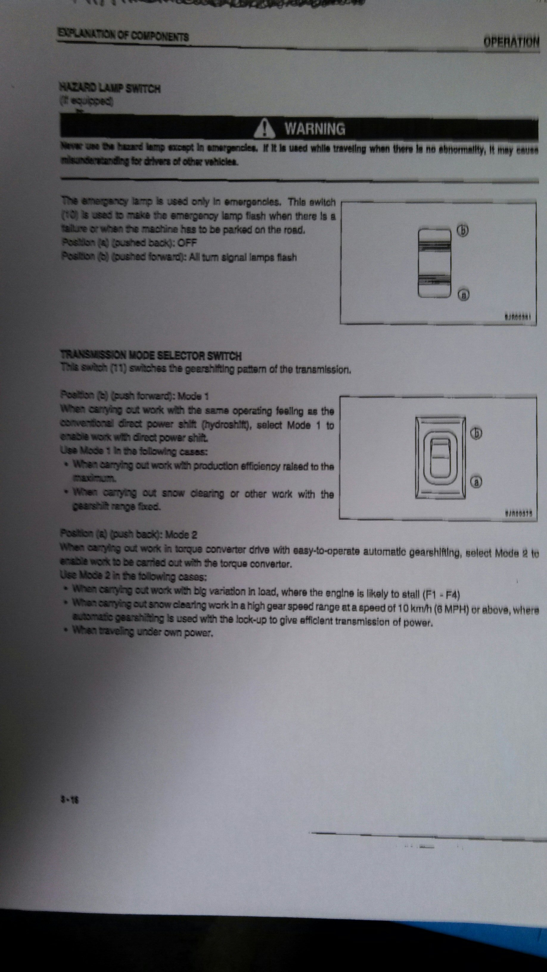 I Have Recently Purchased A Komatsu Gd555 3a Grader And There Is D41p Wiring Diagrams In Mode 2 It Manually Shifts Through 1 4 Then Autoshift 5 8 Manual Shift Reverse Speeds Here The Info On This