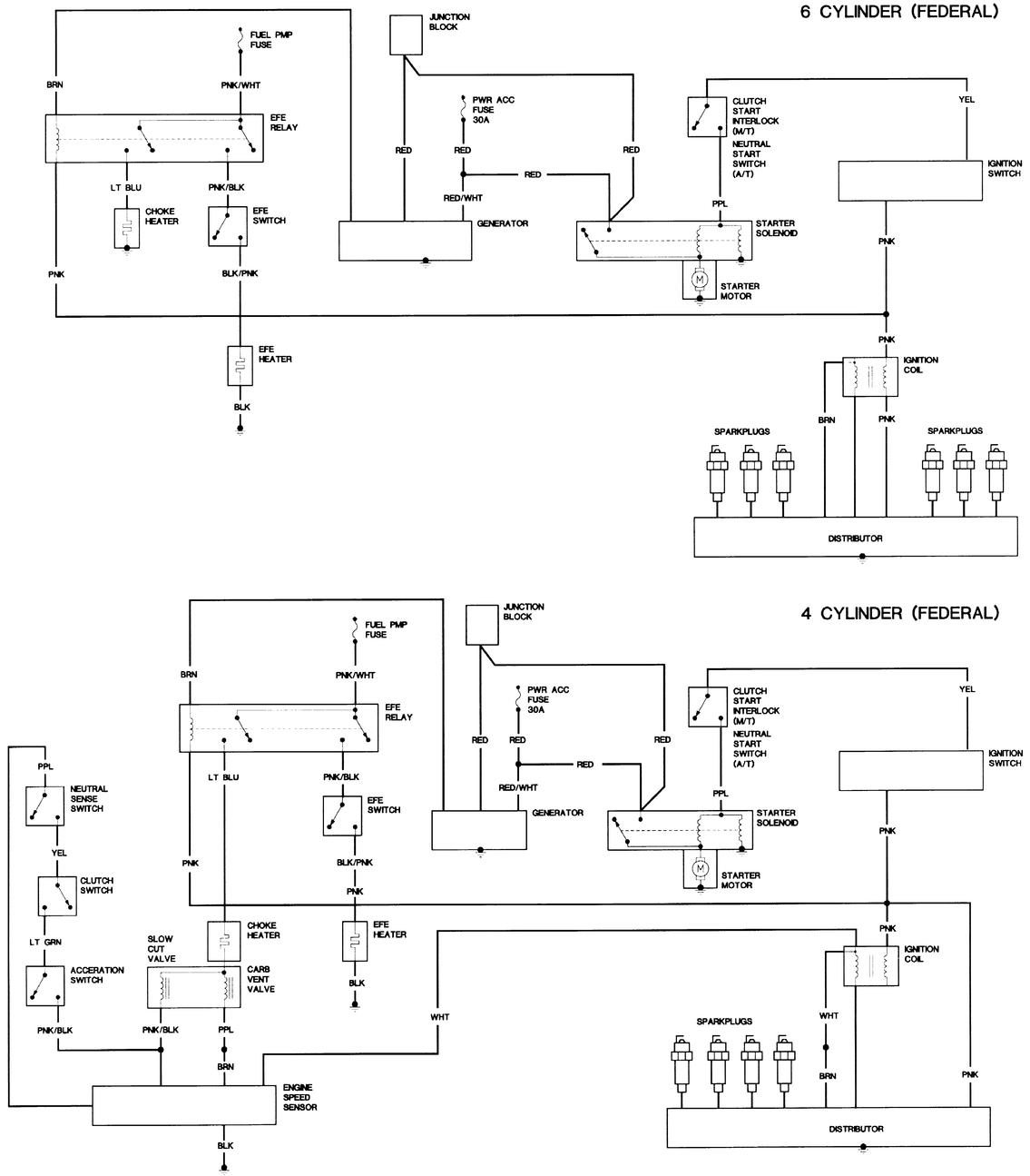 Can Anyone Find The Actual Choke Circuitry For My 1982 S10 Pickup With A Base Federal 1 9 Liter