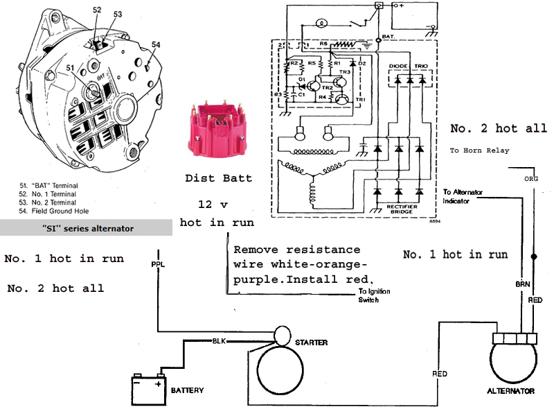 Beautiful 1970 Chevelle Alternator Wiring Diagram Pictures