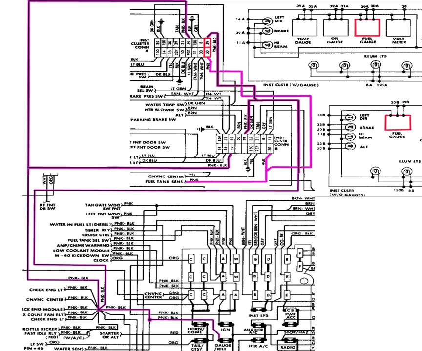 1985 chevrolet k10 wiring diagram 1986 chevy truck wiring diagram model c - schematic wiring ...