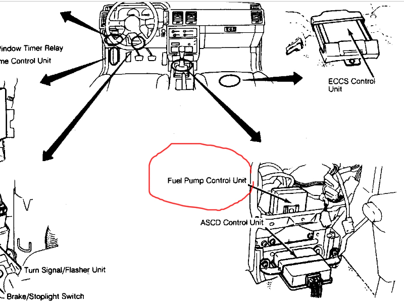how to check fuel relay on a 1987 lamborghini countach