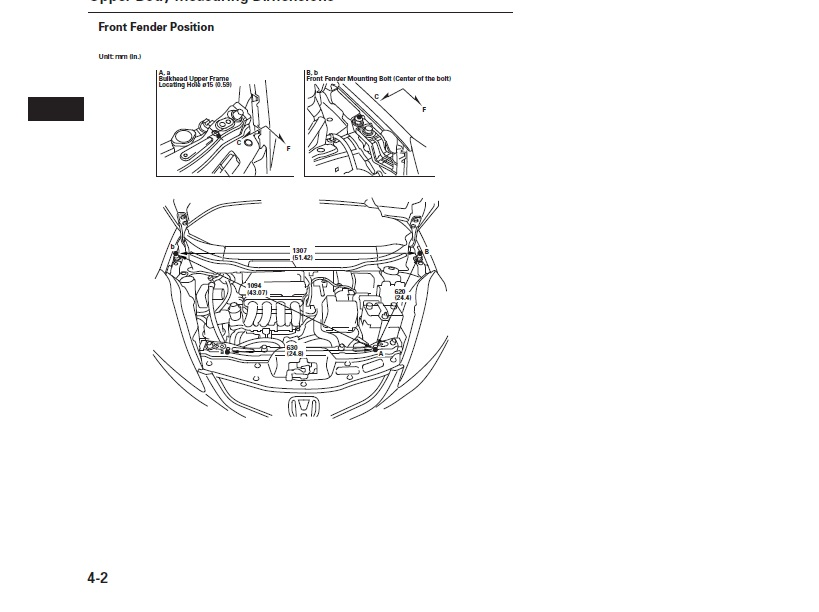 Ase Certified Mechanic >> Trying to get the underhood measurements for 2011 Honda fit. Have one apart and crash book not ...