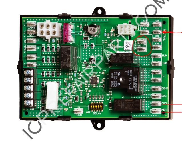 How do i convert a st c electronic control board to