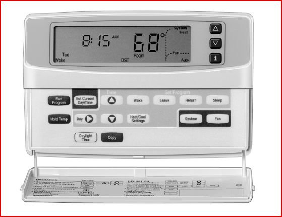 Wiring Diagram For Honeywell Chronotherm Iv Plus : Thermostat wiring diagram on honeywell chronotherm iv plus