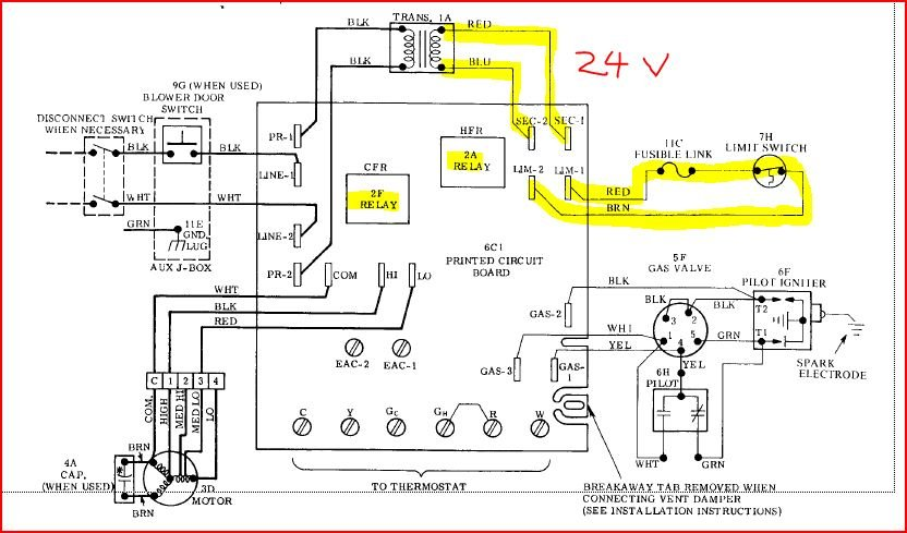 Diagram  Goodman Furnace Blower Wiring Diagram For A Full