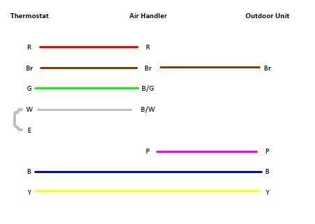low voltage wiring diagram e2eb 015ha air conditioner low voltage wiring diagram