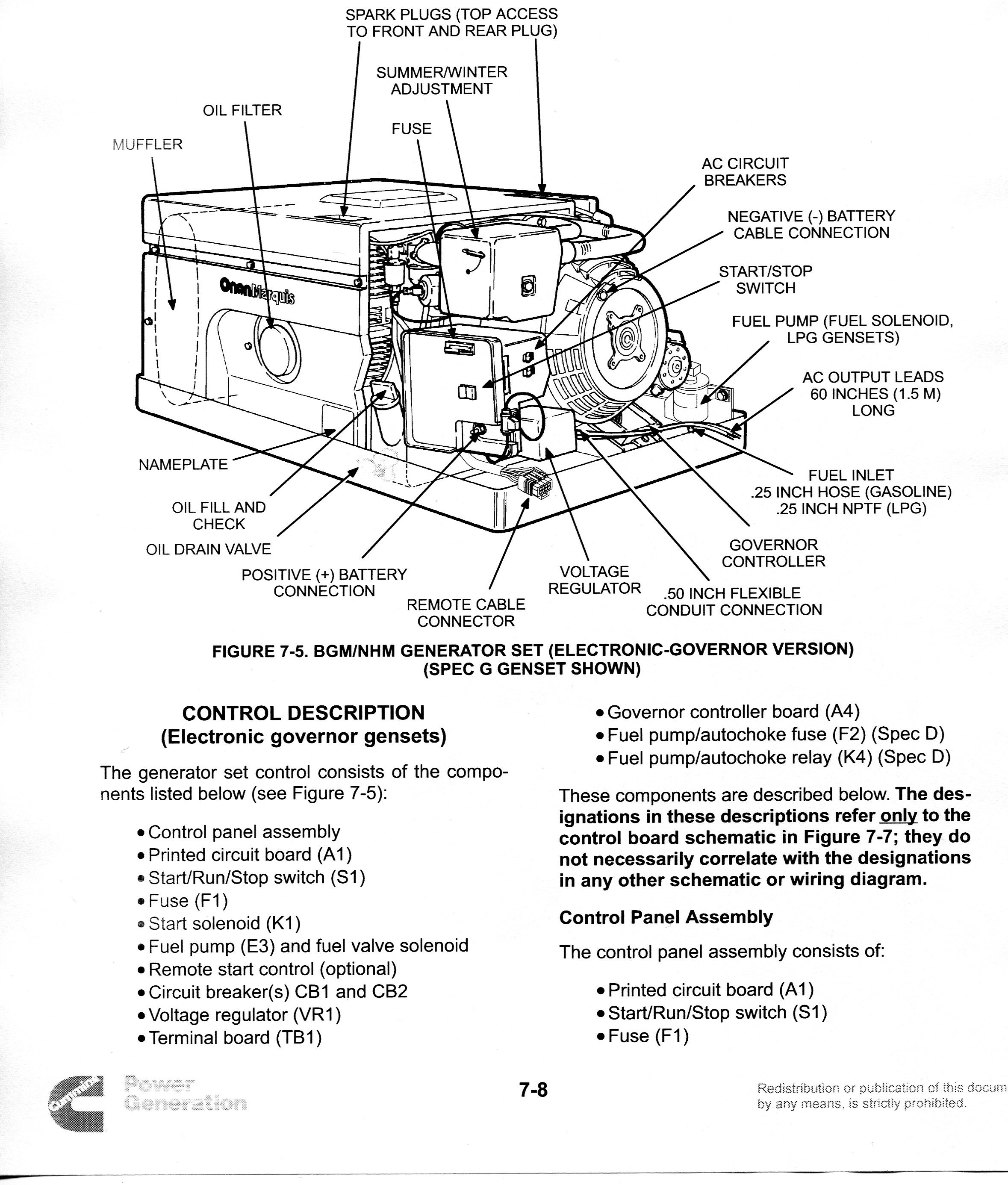 Wiring Diagram Furthermore Onan Marquis 5500 Generator Wiring Diagram