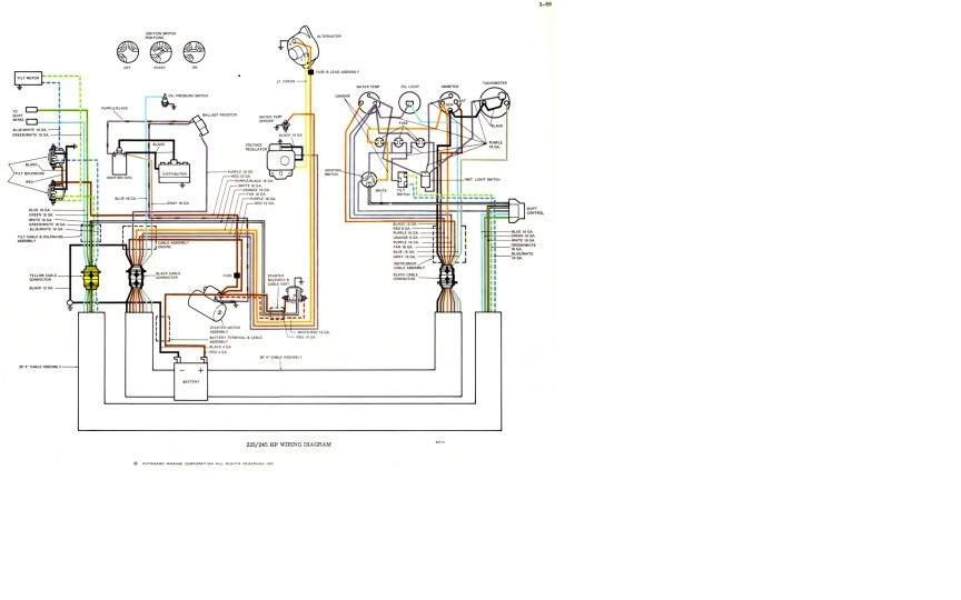 Graphic: Century Boat Wiring Schematic At Outingpk.com