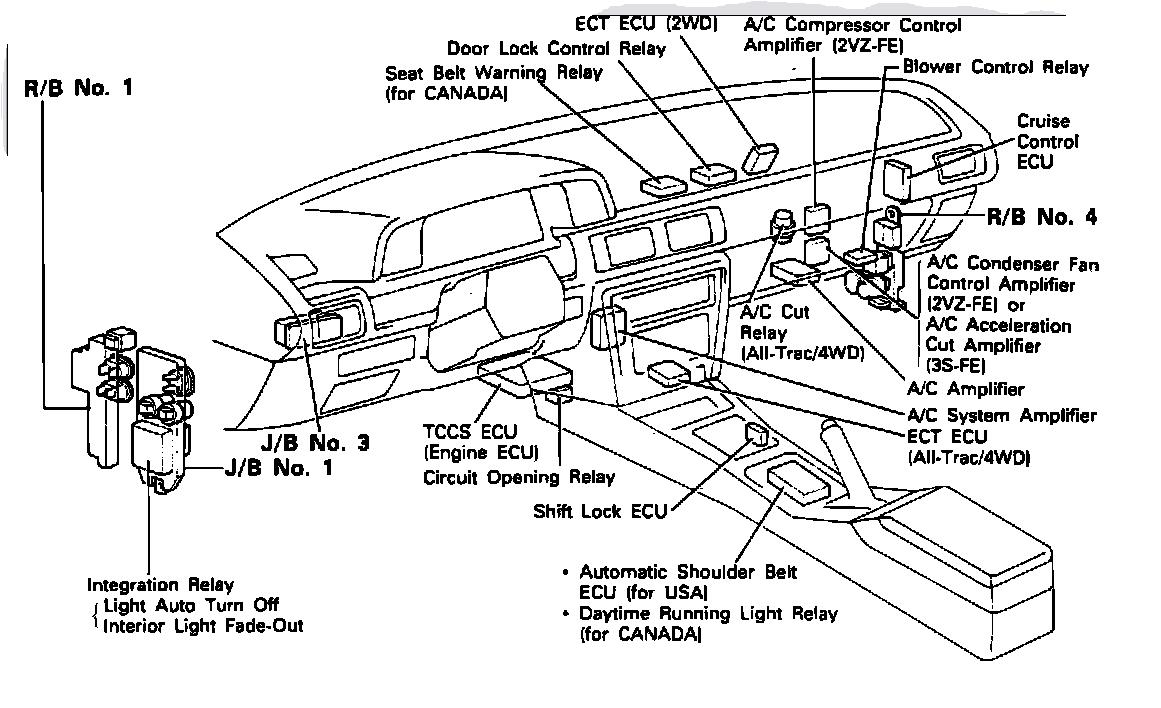 1997 toyota 4runner ac wiring diagrams 1997 toyota 4runner