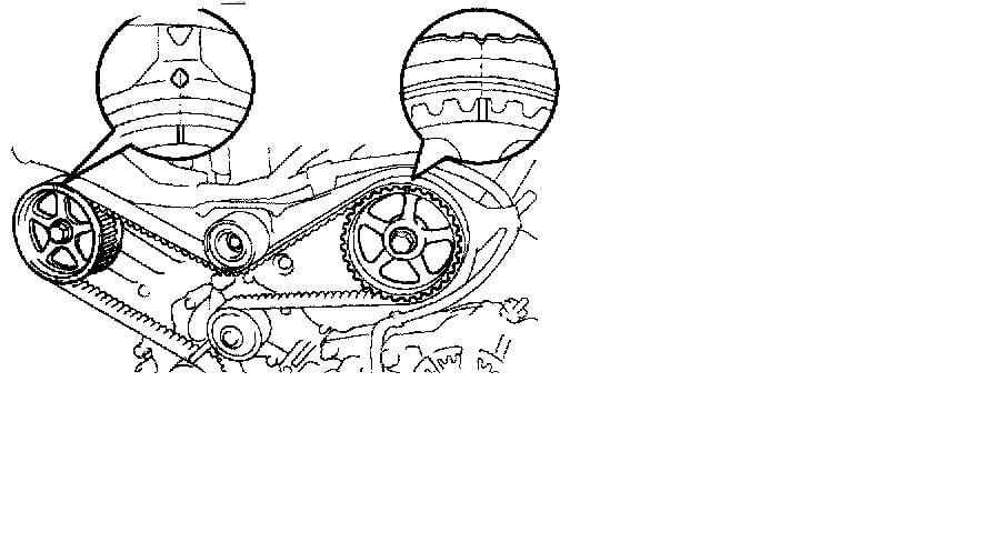 avalon 2003 v6 timing belt marks timingmarks toyota 3 o 1989 toyota 3 0 v6 engine diagram