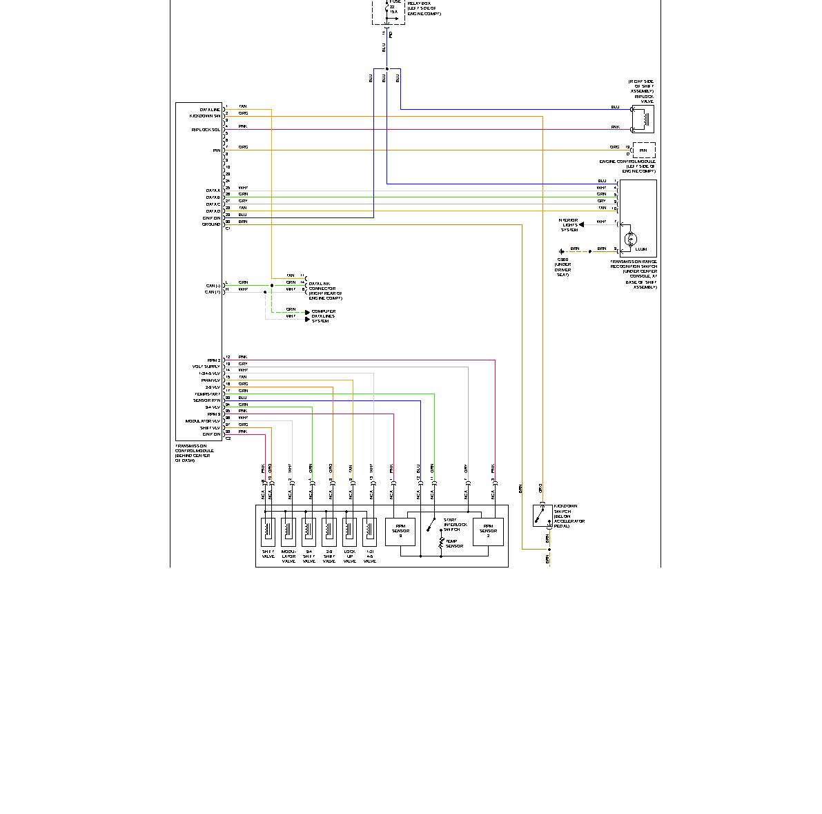 pontiac trans am wiring diagram 2002 trans am wiring diagram