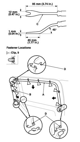 How To Get To And Replace Power Door Lock Actuator On 2005 Odyssey