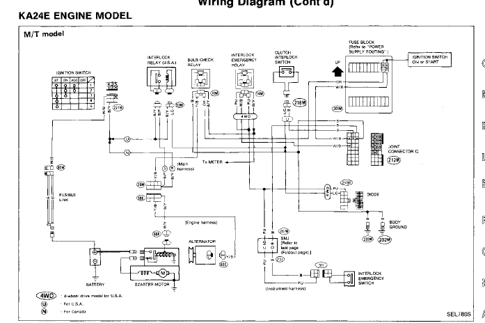 1995 Nissan Pick Up 2 4 Wiring Diagram : i have a 1995 nissan pickup 4x4 2 4l engine i rebuilt the ~ A.2002-acura-tl-radio.info Haus und Dekorationen