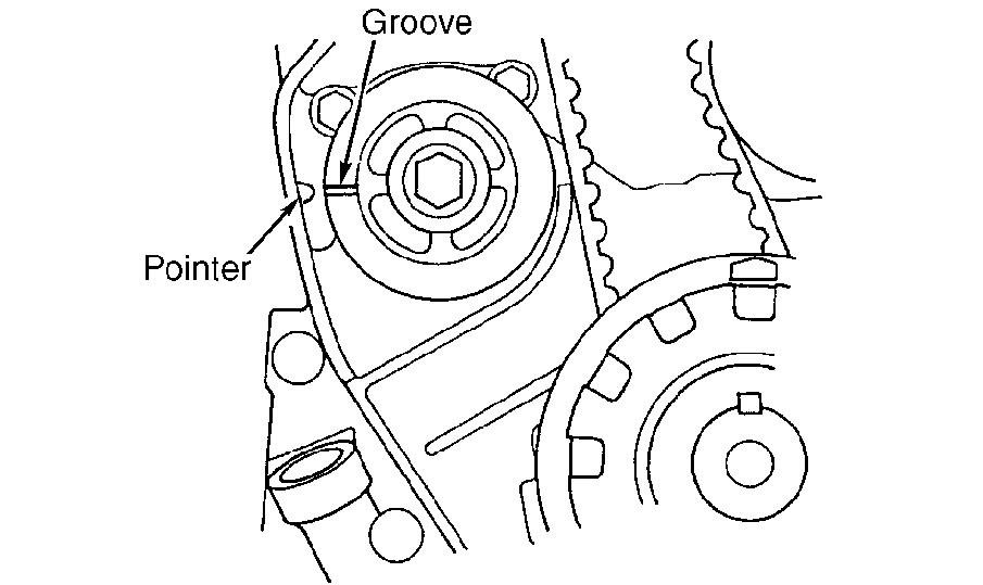 can someone give me step by instruction on how to replace a timing 1992 Honda Accord Timing Belt Marks align rear timing balance shaft belt pulley by inserting a 6 x 100 mm bolt 2 9 74 mm into alignment access hole align groove on front balance shaft
