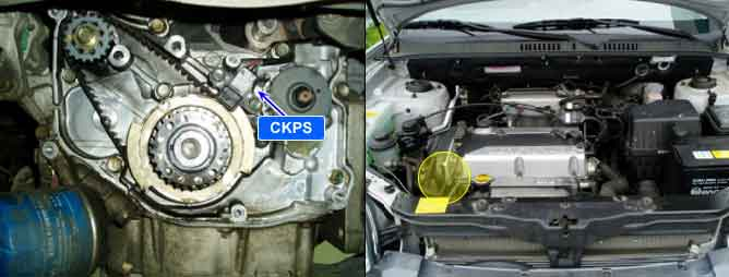 Mazda likewise Sm likewise Hqdefault in addition Hqdefault together with Camsensor. on 2004 kia optima camshaft position sensor location