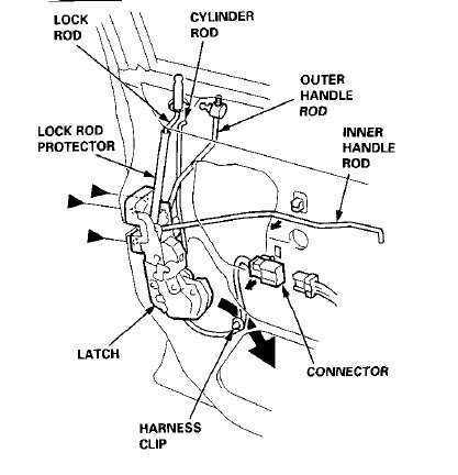 Toyota Truck Door Lock Wiring Diagram