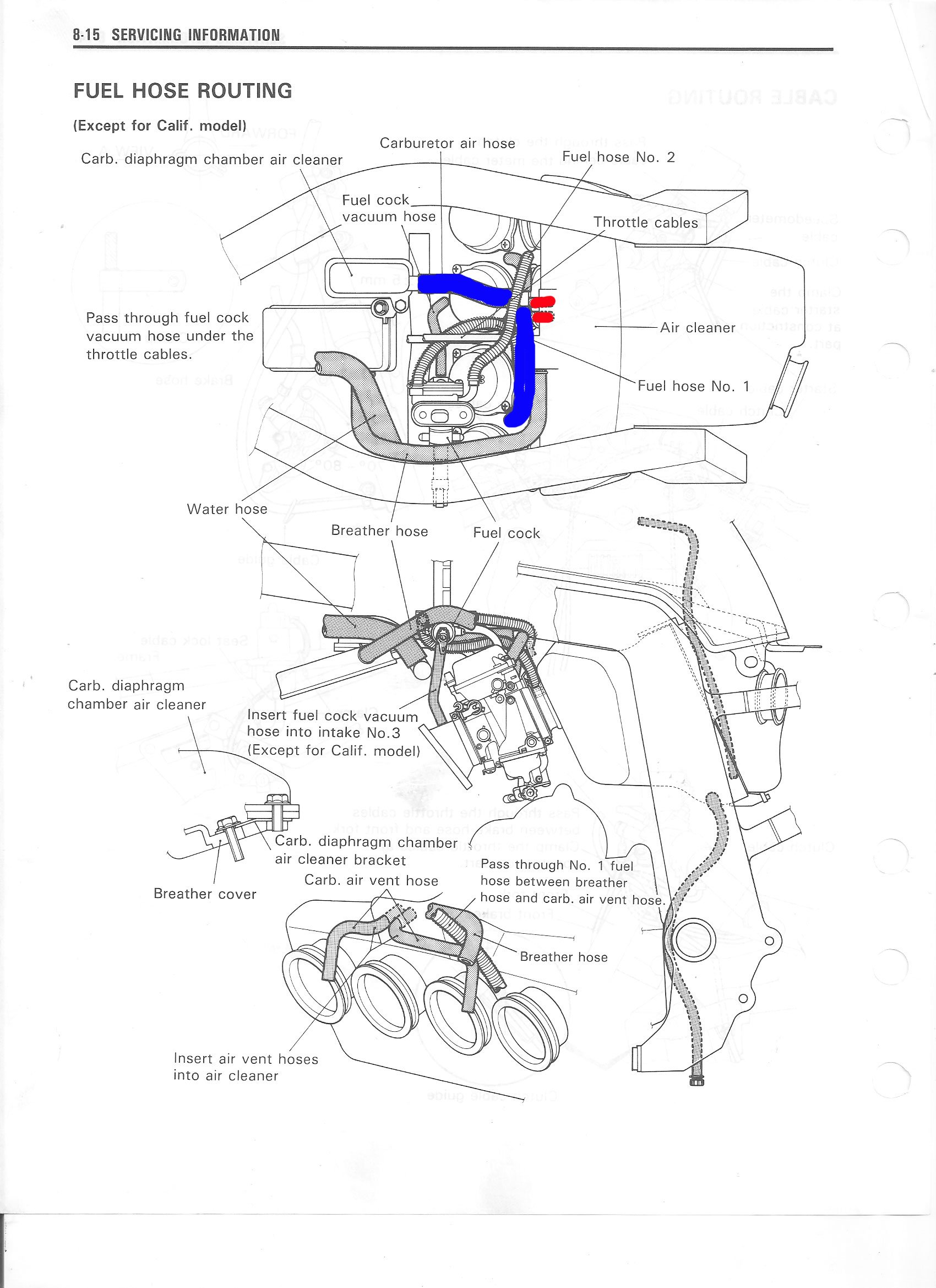 suzuki gsx r 750 fuel line routing diagram  suzuki  auto