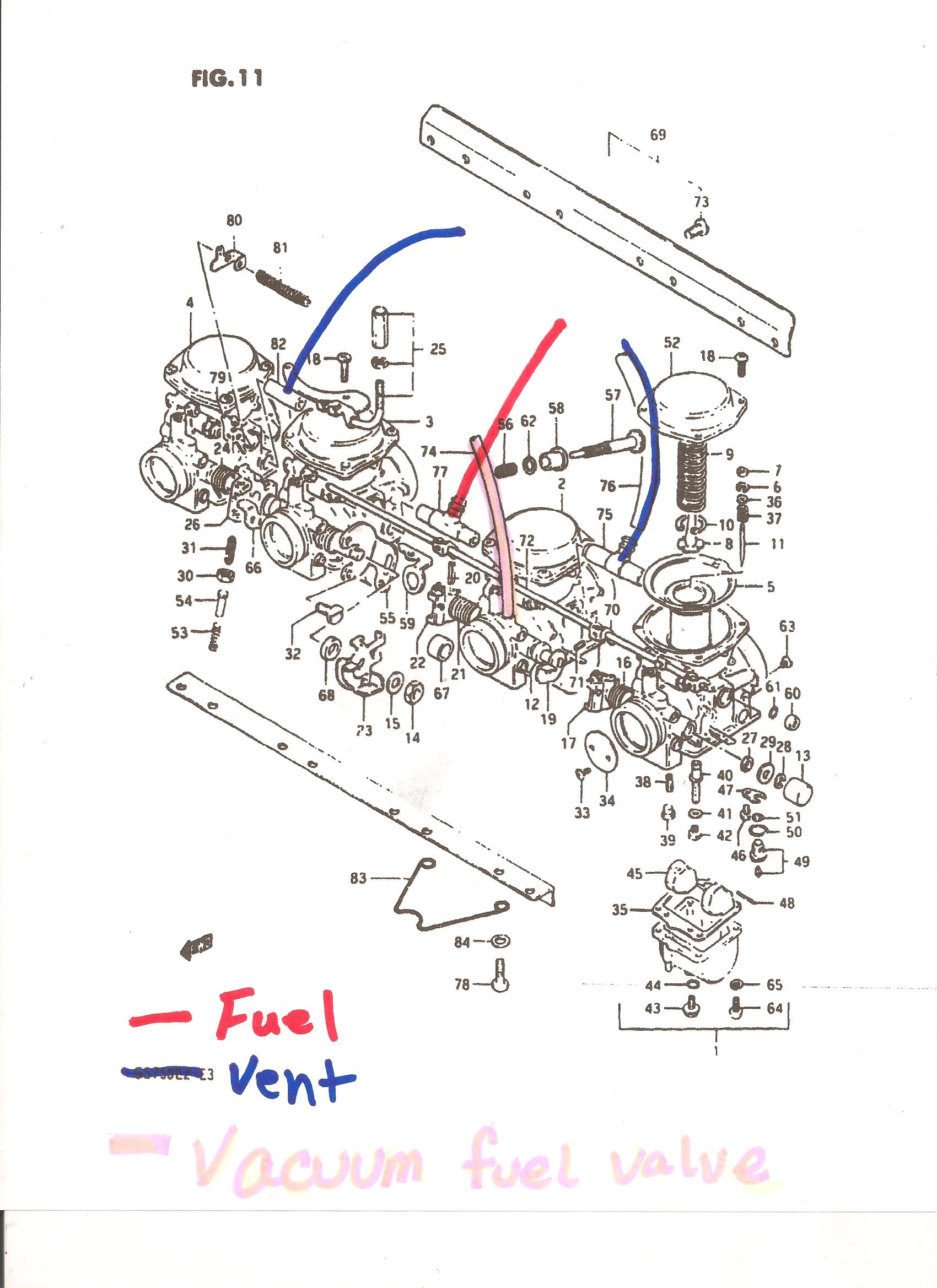 Gs 450 Carburetor Wiring Diagram And Schematics Suzuki Gs750 Ltr Kuwaitigenius Me Source I Have A 1982 750 Es Took The Carb Out For Total