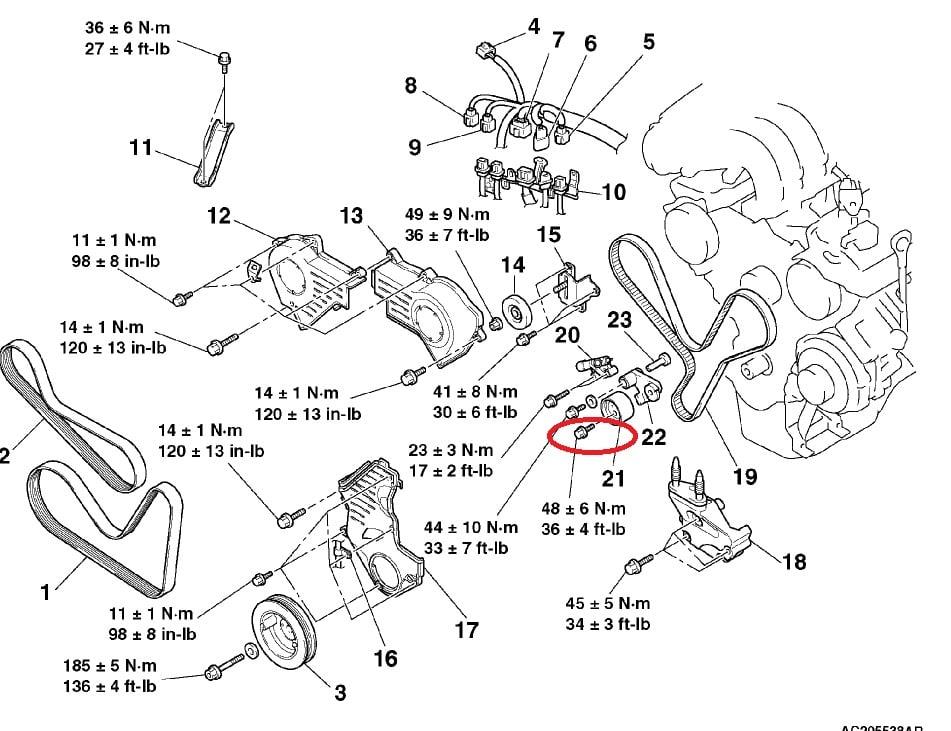 Mit on 2004 Mitsubishi Endeavor Parts