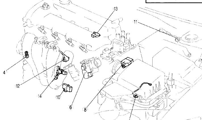 Where Is The Map Sensor On 2004 Mazda 6 I Know What Part Looks Like