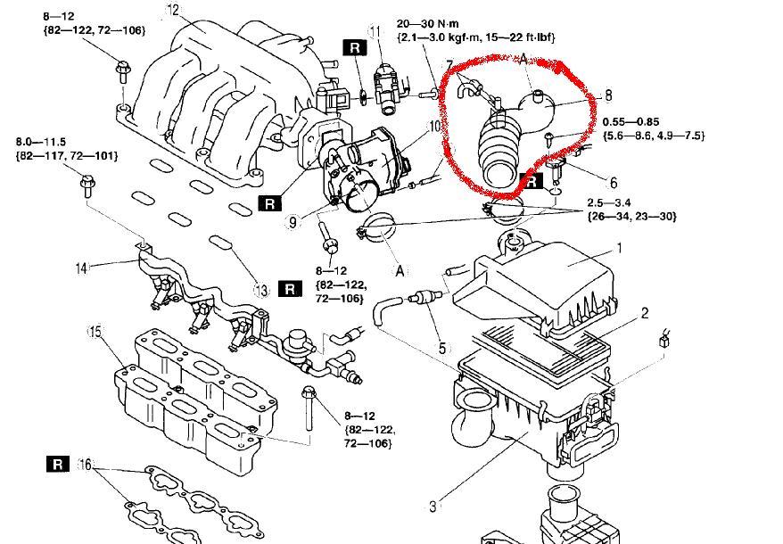 2007 Mazda 6 Engine Air Intake Diagram also Volkswagen Jetta Parts furthermore 3 Inch Electrical Pipe besides 1999 Mazda Miata Alternator Wiring Diagram further Wiring Diagram Mazda 323 Bg. on 9347maz03 intake manifold