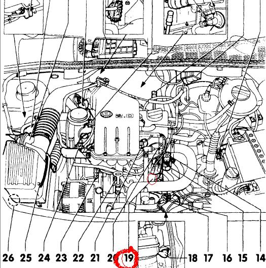 Where Is The Camshaft Sensor Of The Golf Iii Located