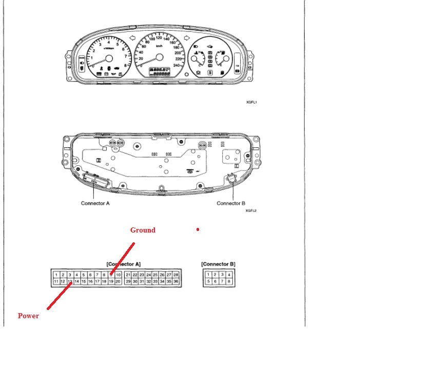 I Need The Wiring Diagram For The Power Supply On A 2005 Volvo S60 Instrument Cluster  I Need To
