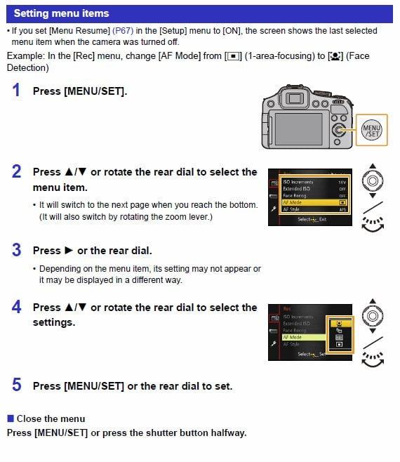 how do i format a memory card in a lumix fz200 camera rh justanswer com panasonic dmc fz200 guide panasonic dmc fz200 guide
