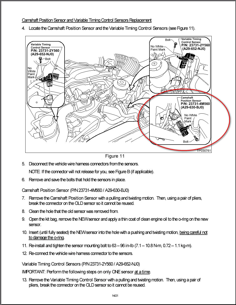 Here Is Some Information On The Recall And Correct Sensor That Should Have Been Replaced There Are 4 Possibilities It Not Uncommon For Someone To