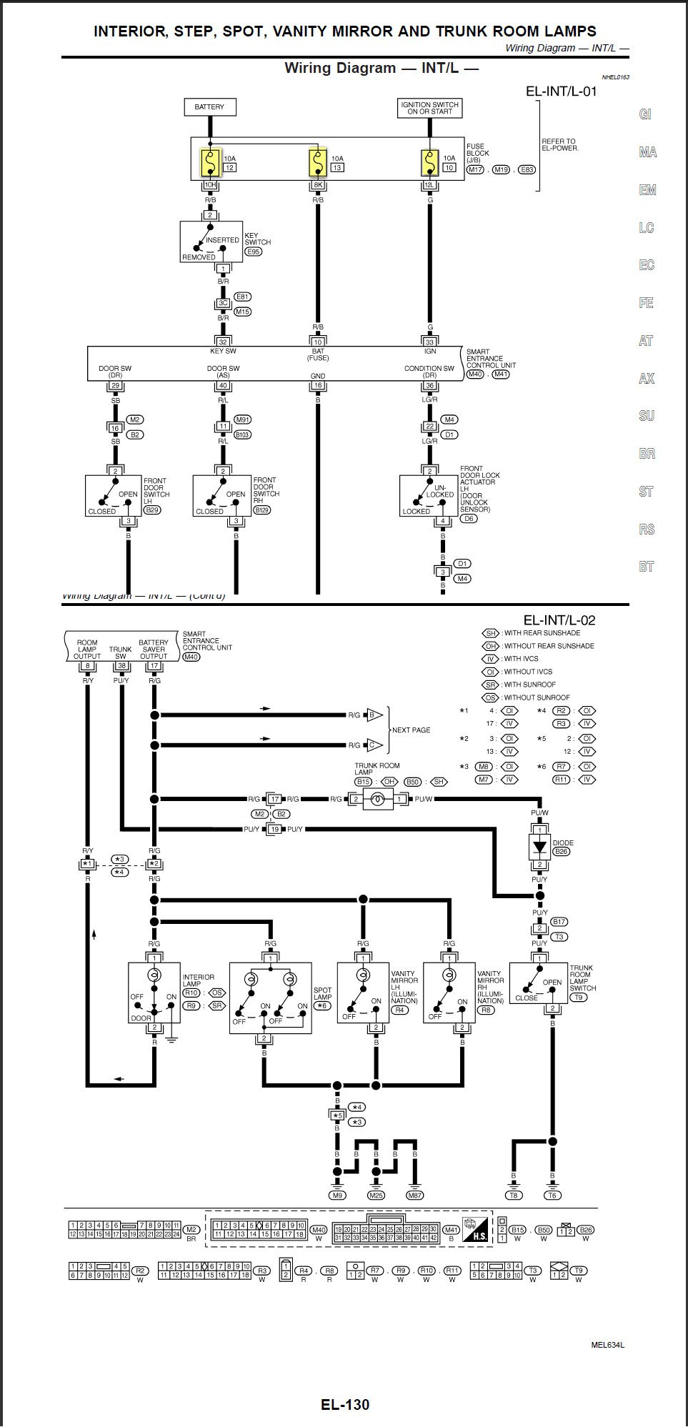 i have an infiniti i30 2001  a neighbor offered to replace