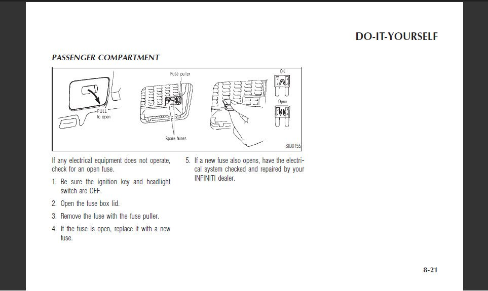 infiniti g20 '99 transmission does not shift from 1-2 or 2 ... 99 infiniti g20 fuse box 1994 chevy g20 fuse box diagram