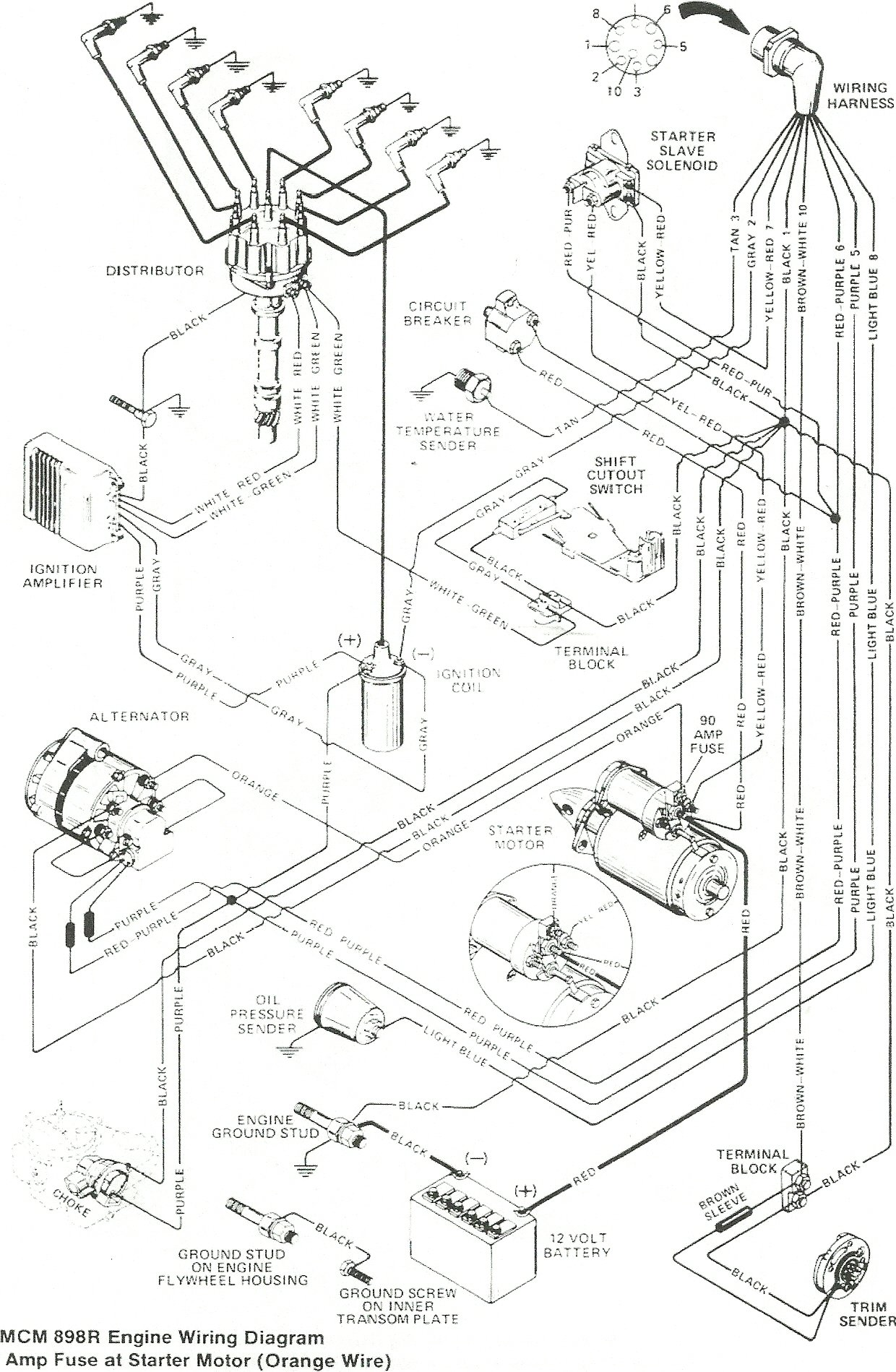 sea ray boat wiring diagram   27 wiring diagram images
