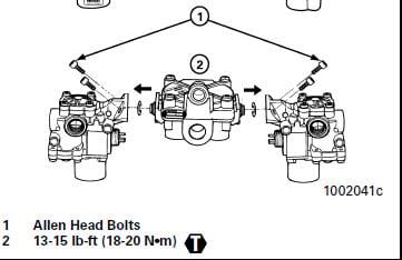 2005 freightliner century abs code brake mod  valve a3r
