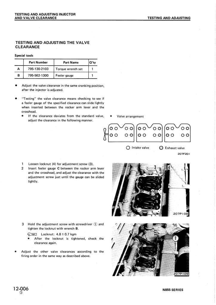 I Am Replacing Head Gaskets On 1976 D65 E6 Komatsu With A
